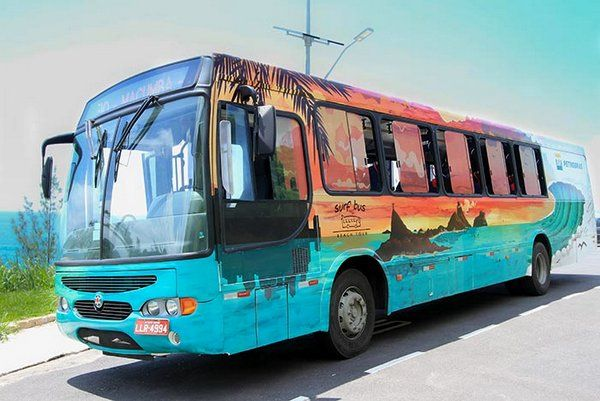 Surf Bus, el autobus del surf de Rio de Janeiro