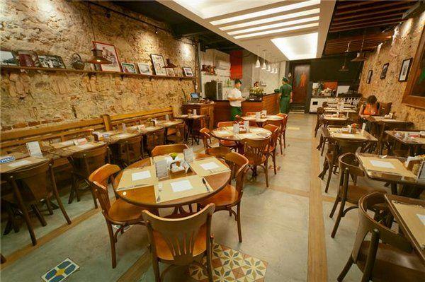 bistro ouvidor restaurantes en el centro de Rio de Janeiro