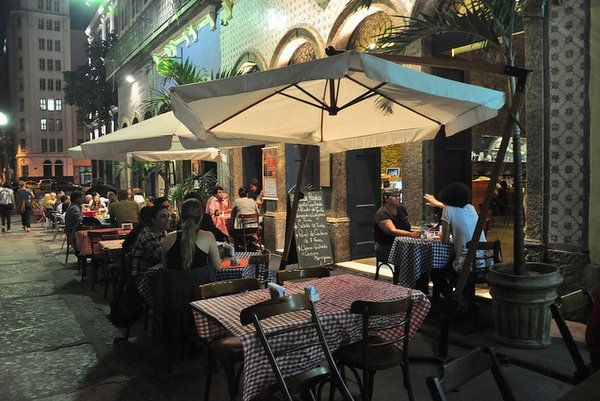 brasserie rosario Restaurantes en el centro de Rio de janeiro