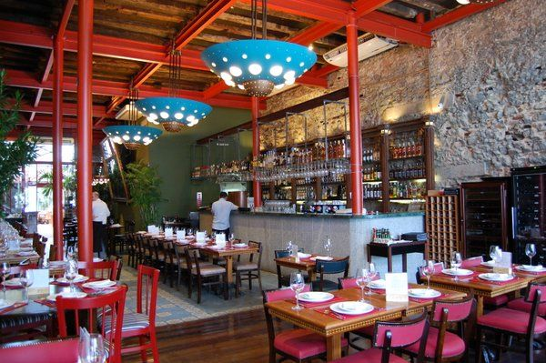 cais restaurantes en el centro de Rio de Janeiro