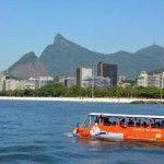 Recorrido en vehículo anfibio tours guiados de Rio de Janeiro