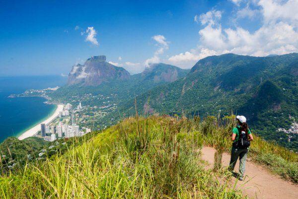 Trekking en Dois Irmaos Rio de Janeiro| Foto: Flavio Veloso - trekking en Rio de Janeiro