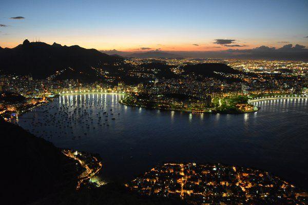 Atardecer desde el morro de Urca - los mejores lugares para ver la puesta de sol en Río de Janeiro