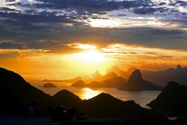 los mejores lugares para ver la puesta de sol en Río de Janeiro