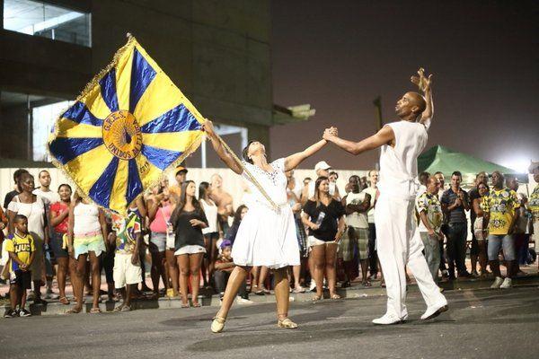 Ensayo de la escuela de samba Salgueiro Espectaculos de samba Rio de Janeiro