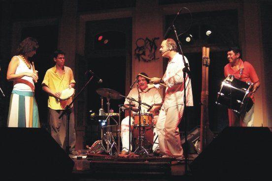 Actuación en el Centro Cultural Carioca Musica en vivo en Rio de Janeiro