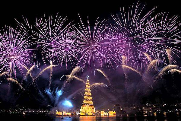 Arbol de Navidad flotante Eventos en Río de Janeiro