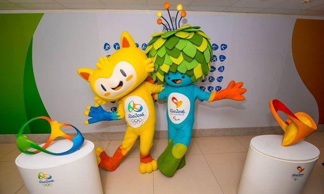 mascotas de Rio 2016