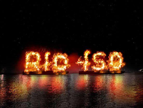 Año Nuevo en Rio de Janeiro - Reveillon 2015