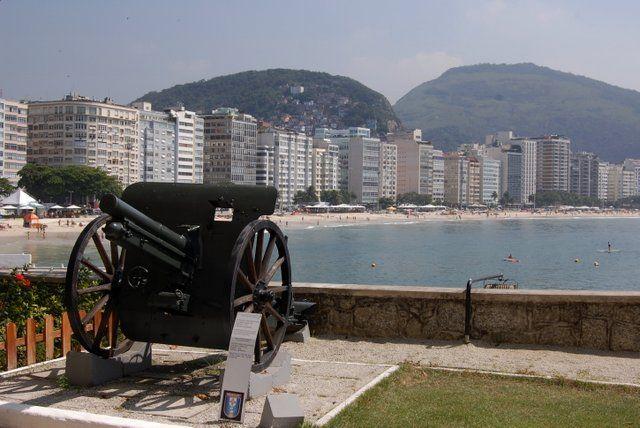 vista del barrio de copacabana rio de janeiro