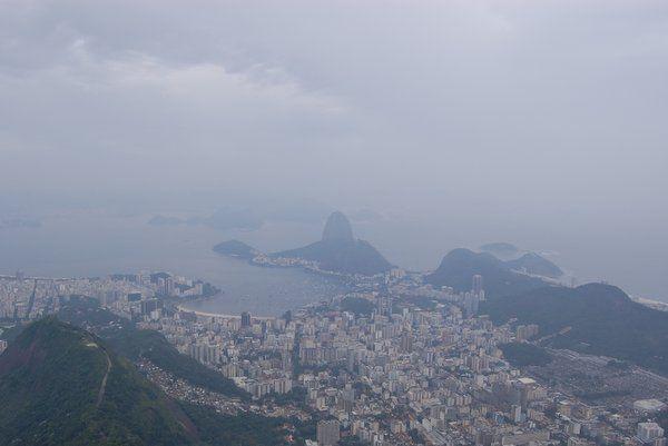 día lluvioso vacaciones en Río de Janeiro