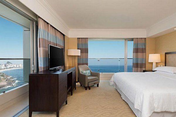 Sheraton Grand Rio hoteles para recibir el año nuevo en Rio de Janeiro