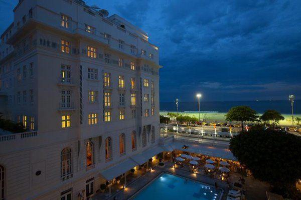 copacabana palace hoteles para recibir el año nuevo en rio de janeiro