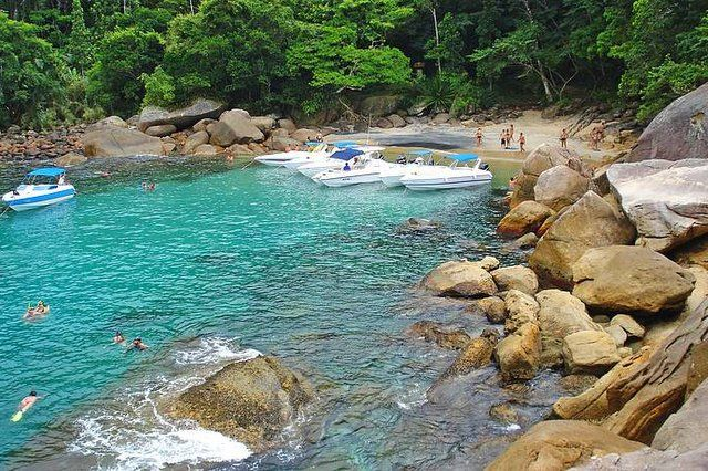 las playas más bonitas de Isla Grande playa caxadaço
