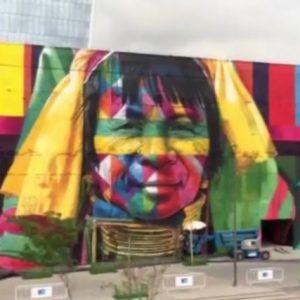 etnias el mural más grande del mundo RJ