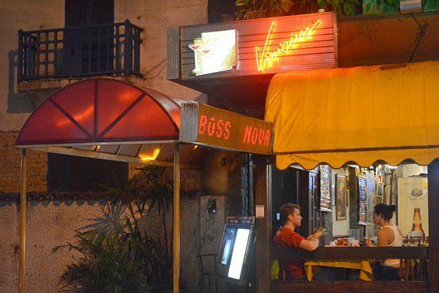 En Vinicius Bar se puede escuchar bossa nova Ipanema Rio de Janeiro