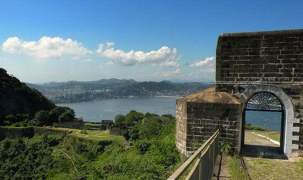 fuerte de Sao Luiz Niteroi Rio de Janeiro fuerte do pico
