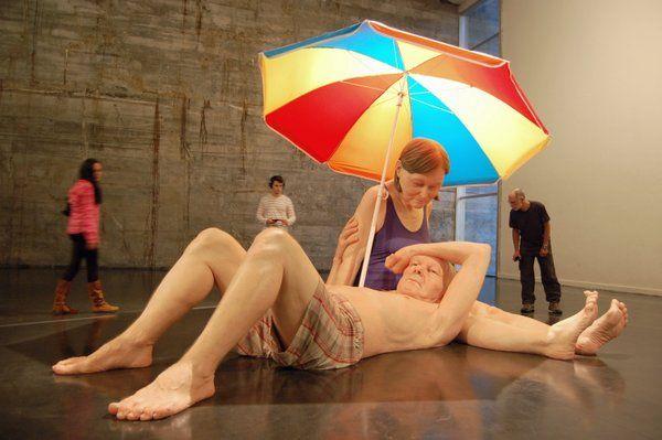 Obra de Ron Muick Museo de Arte Moderno Rio de Janeiro MAM rio de janeiro