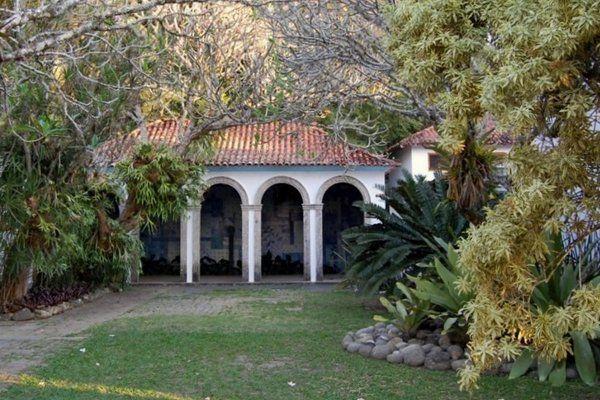 Vista de la logia Sitio Burle Marx Rio de Janeiro
