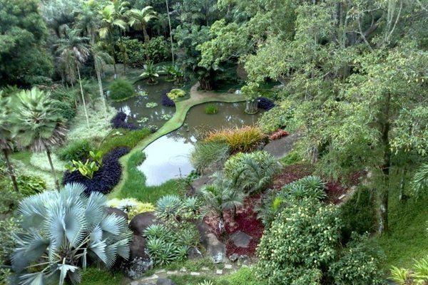 Area de los lagos Sitio Burle Marx Rio de Janeiro