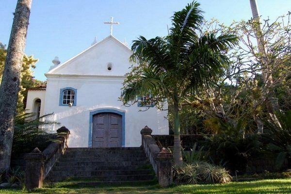 Capilla de Santo Antônio Sitio Burle Marx Rio de Janeiro