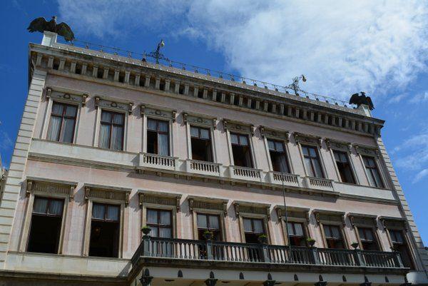 Fachada posterior del Palacio Catete Rio de Janeiro Museo de la Republica