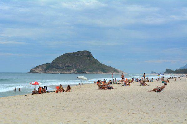 Playa de Recreio dos Bandeirantes Rio de Janeiro