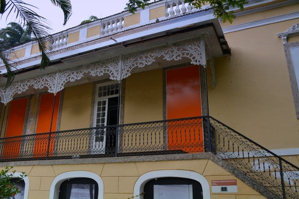 Casa-palacete del Museo del Indio Rio de Janeiro