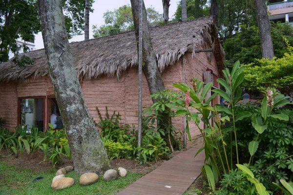Choza Museo del Indio Rio de Janeiro