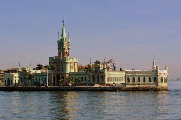 vista general Palacio de Ilha Fiscal Rio de Janeiro Isla Fiscal