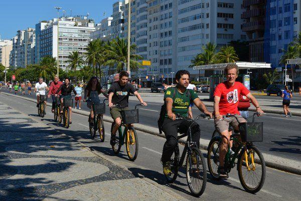 Paseos en bicicleta tours en Rio de Janeiro