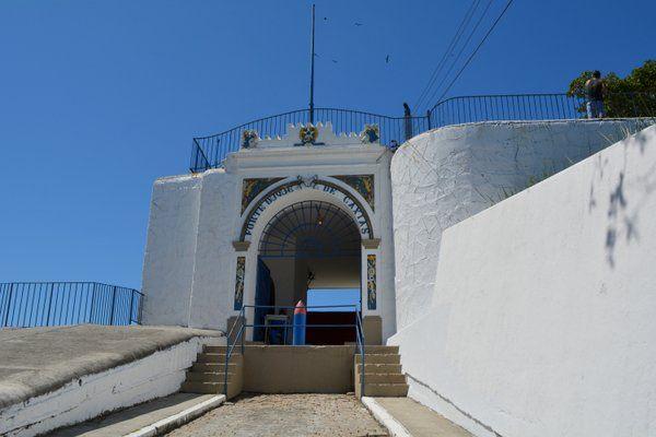 Puerta de acceso al Fuerte Duque de Caxias Fuerte de Leme Rio de Janeiro