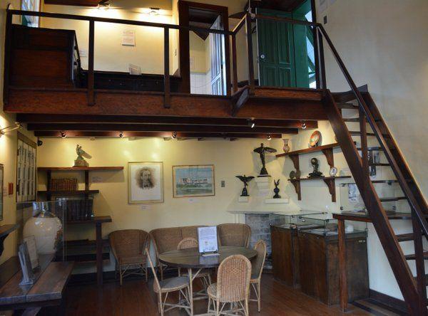 Interior de la casa museo de Santos Dumont Petropolis Rio de Janeiro