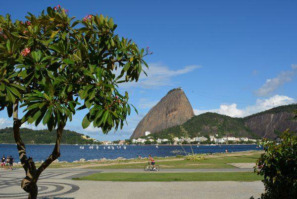 Parque do Flamengo Areas verdes de Rio de Janeiro
