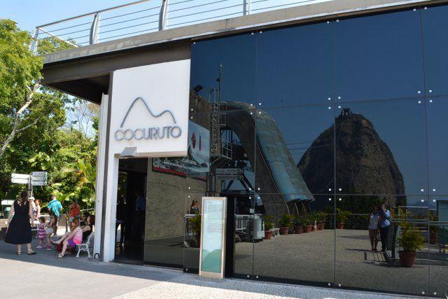 Acceso a la sala Cocuruto Pan de Azucar Rio de Janeiro