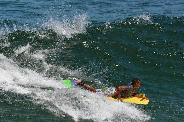 Bodysurf en Playa de Leme Rio de Janeiro