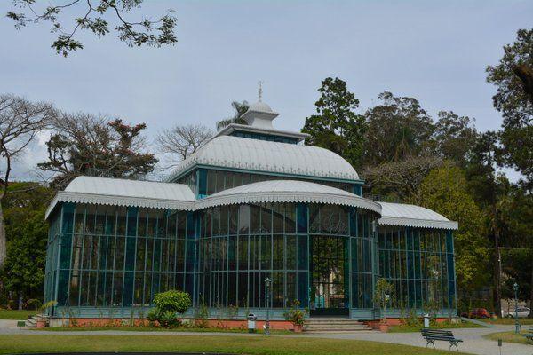 Palacio de Cristal Petropolis Rio de Janeiro
