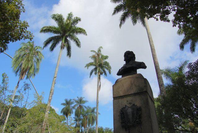 Busto de Don João VI Jardin Botanico Rio de Janeiro