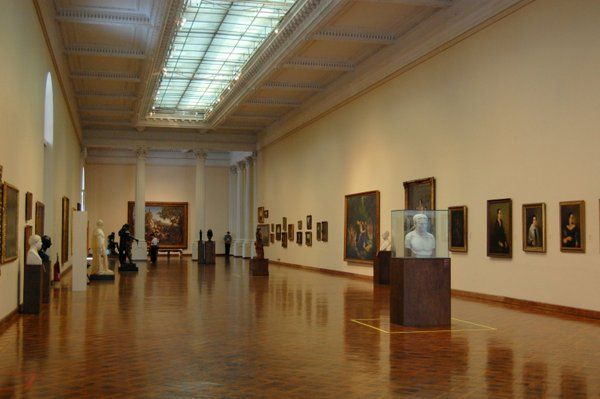 Galería del Museo Nacional de Bellas Artes Rio de Janeiro