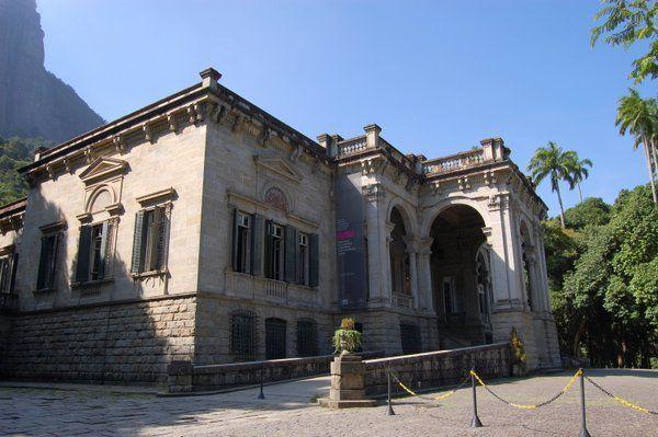 Palacete del Parque Lage, hoy sede de la Escuela de Artes Visuales Rio de Janeiro