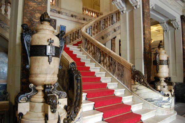 Escalera principal de Palacio Tiradentes Rio de Janeiro