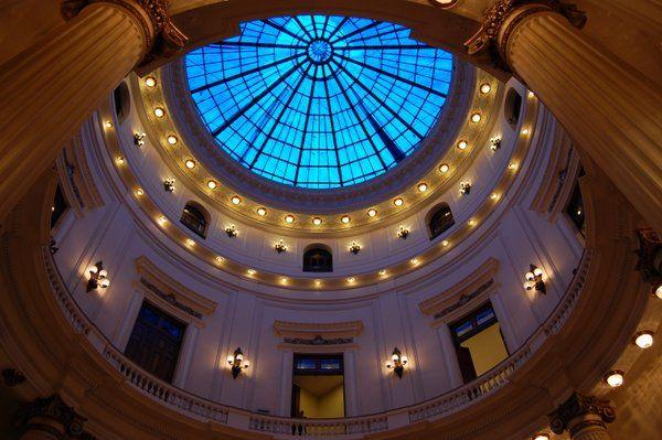 Cupula central Centro Cultural Banco de Brasil Rio de Janeiro