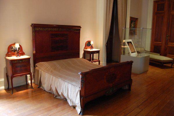 Dormitorio dónde se suicidó el presidente Getulio Vargas Palacio Catete Rio de Janeiro Museo de la Republica