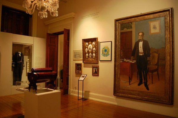 Una de las salas del Museo de la República Palacio Catete Rio de Janeiro
