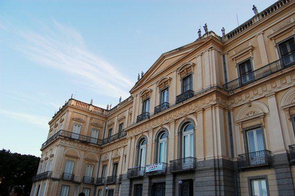 Palacio Imperial de São Cristóvão Rio de Janeiro Quinta da Boa Vista