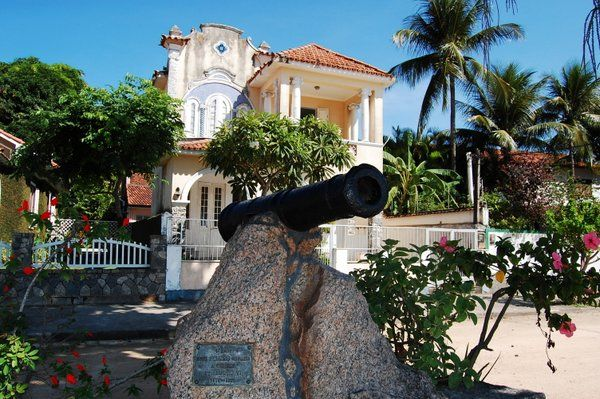 Cañón de Saudação a D. João VI Isla de Paqueta Rio de Janeiro