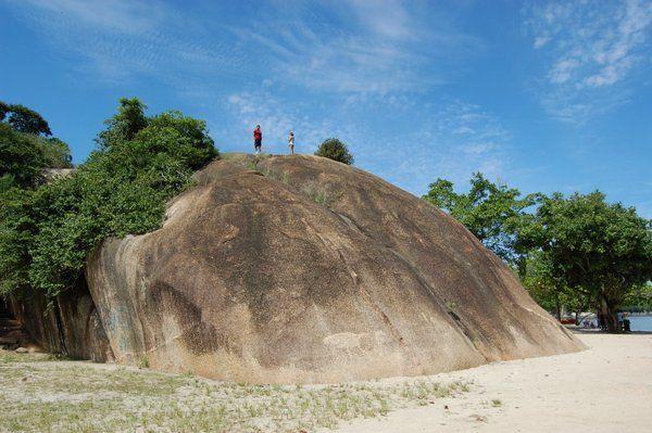 Piedra da Moreninha Isla de Paqueta Rio de Janeiro