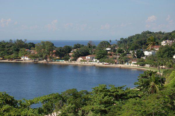 vista de la Playa José Bonifacio Isla de Paqueta Rio de Janeiro