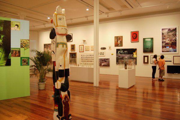 Exhibición de la colección propia del MAR rio de janeiro Museo de arte de Rio de Janeiro