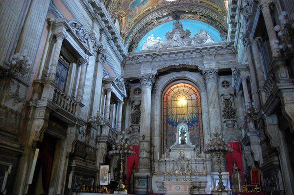 Altar Mayor Iglesia de la candelaria Rio de Janeiro